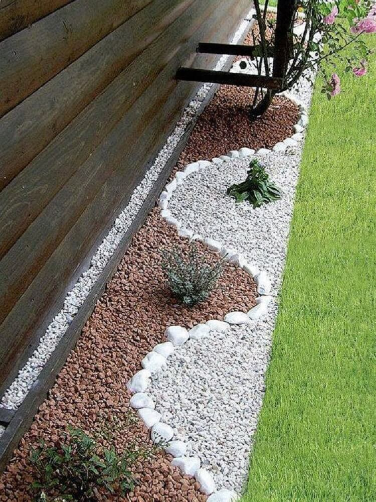 French Drain vertical